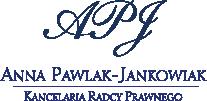 Kancelaria Radcy Prawnego Anna Pawlak-Jankowiak
